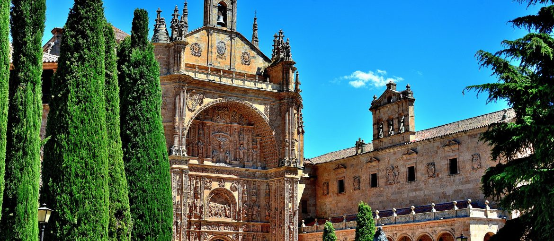 Kulturstaden Salamanca i Spanien