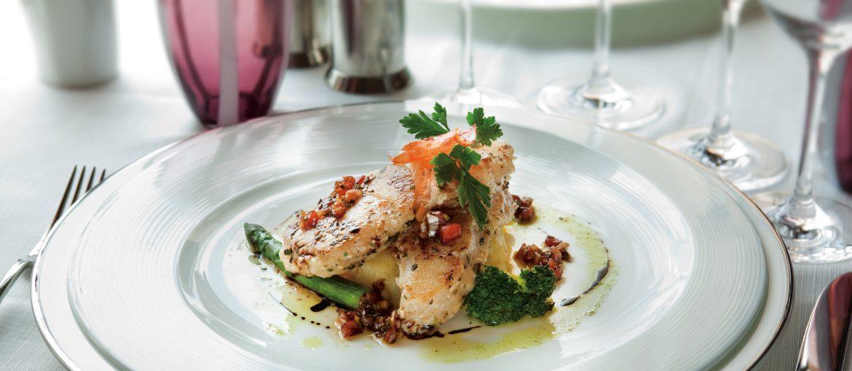 Förstklassig mat ombord på Silversea kryssningar