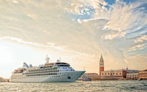 Silver Wind på kryssning i Venedig