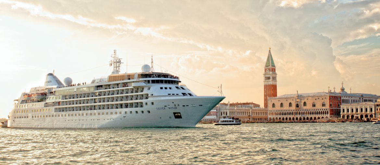Silver Wind på kryssning i Venedig, Italien