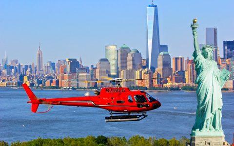 Helikopterturer i New York