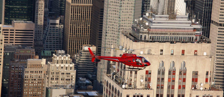 Helikopterturer i New York, USA