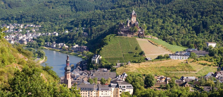 Cochem i Moseldalen, Tyskland