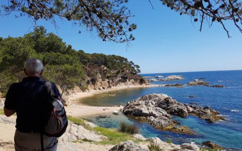 Vandring på Costa Brava, Spanien