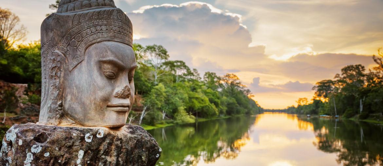 Flodkryssning på Mekong