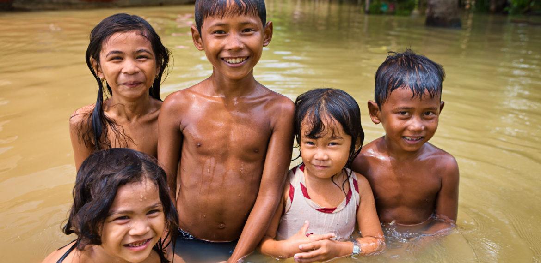 Barn mekong