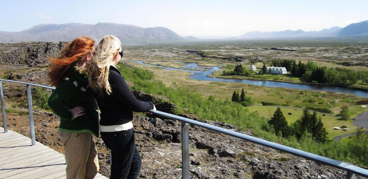 Thingvellir nationalpark, Gyllene Cirkeln på Island