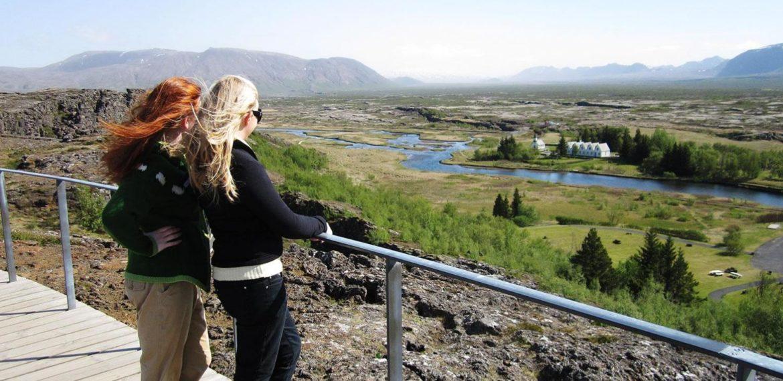 Thingvellir nationalpark, Gyllene Cirkeln på Island