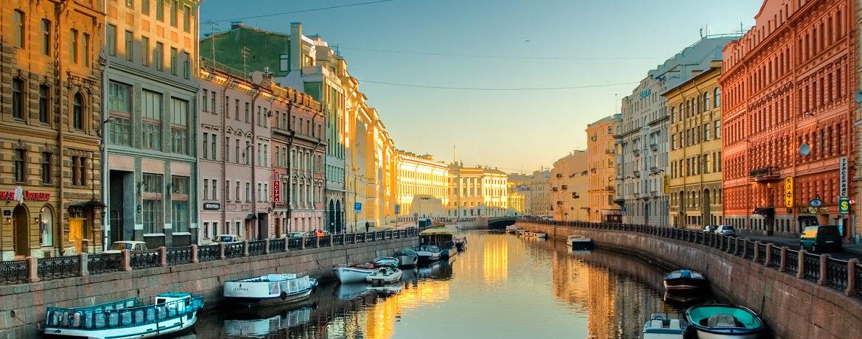 Ryssland flodkryssning