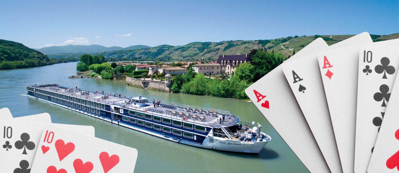Bridgekryssning längs Donau