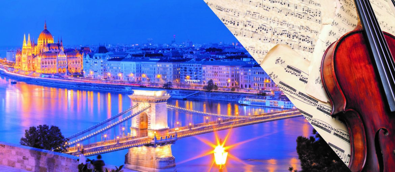 Musikalisk flodkryssning längs Donau