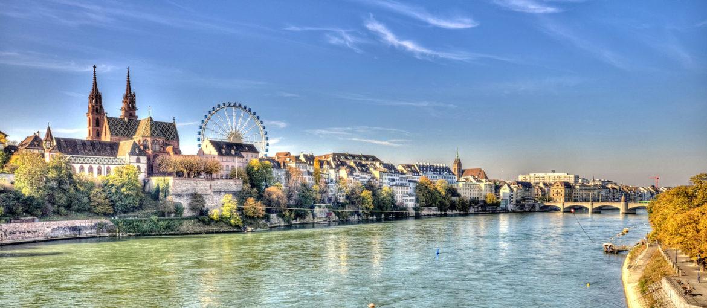 Flodkryssning Rhen från Basel till Amsterdam