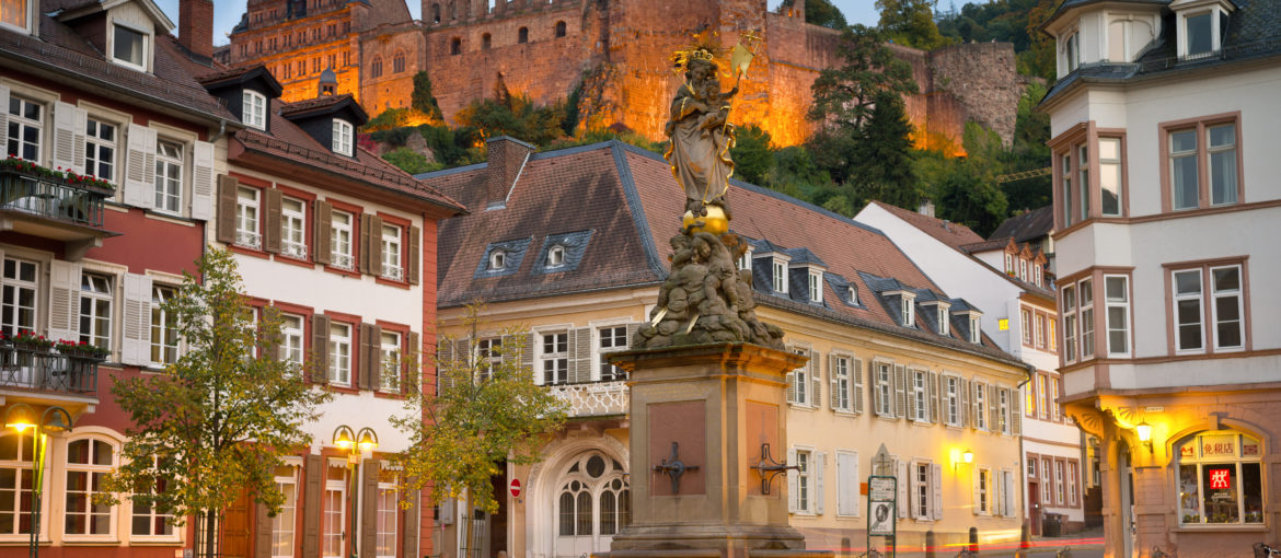 Tågresa med Escape Travel Heidelberg